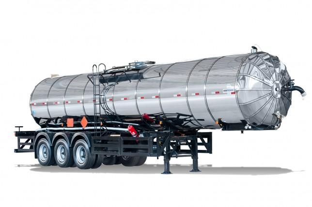 Semirreboque Tanque Aço Carbono Isotérmico com Maçarico